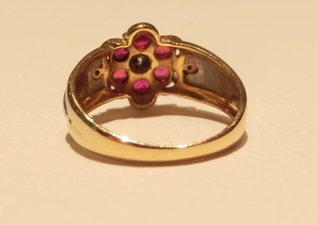 サイズ直し メレダイヤ 石はずれ 石なし 指輪