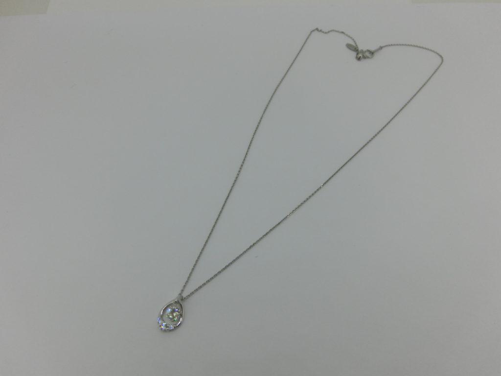 プラチナ ダイヤモンド 立爪リング ペンダント リフォーム・リメイク